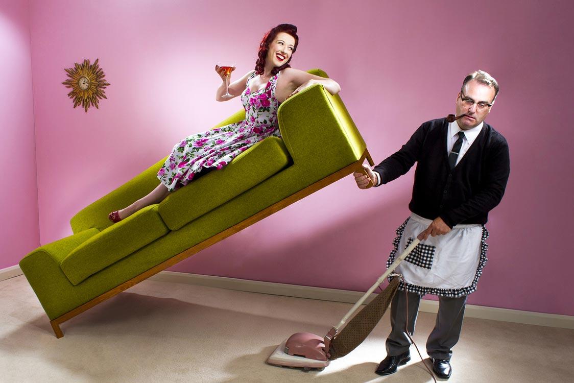 Como fazer o seu marido ajudar na limpeza da casa