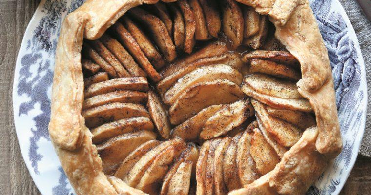 Uma receita de tarte de maçã