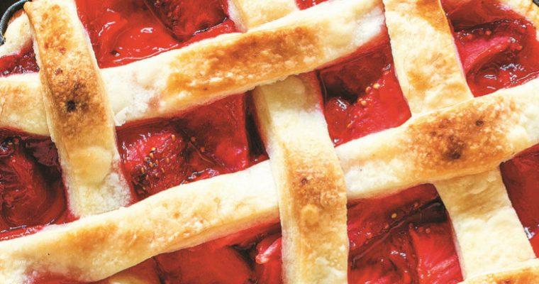 Já experimentou a receita de tarte de morango?