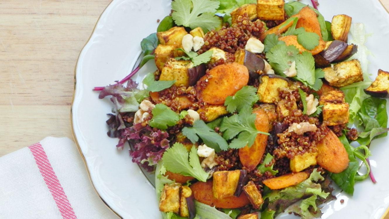 Salada marroquina em Portugal