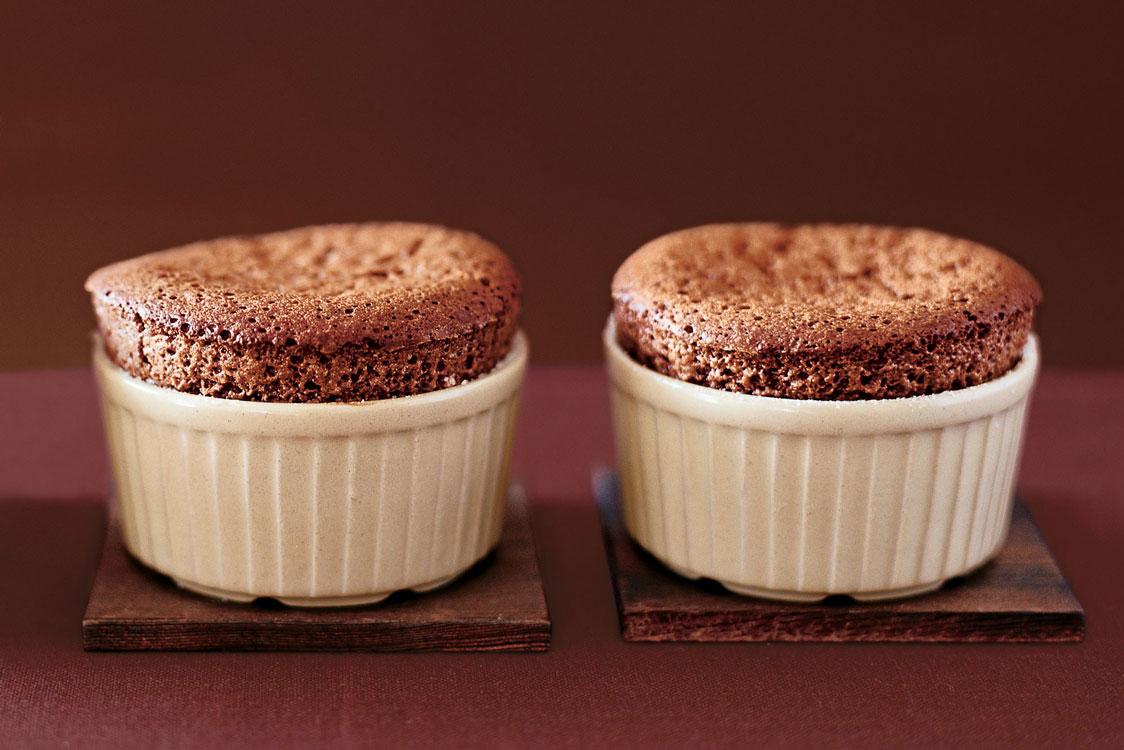 O soufflé de chocolate não é um bolo qualquer