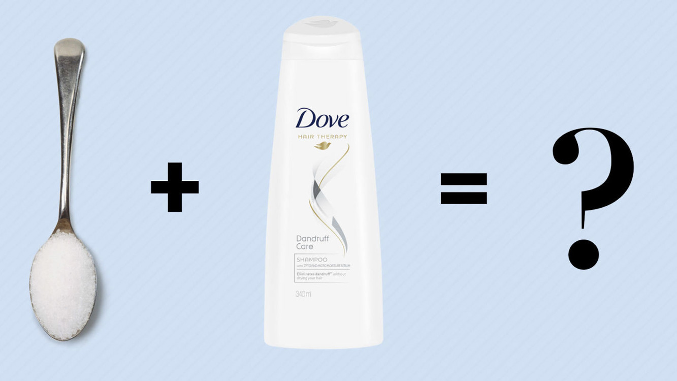 Sabe porque deveria misturar açúcar no shampoo?