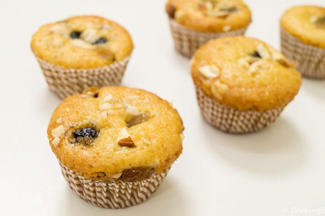 Muffins sem glúten e sem açúcar!