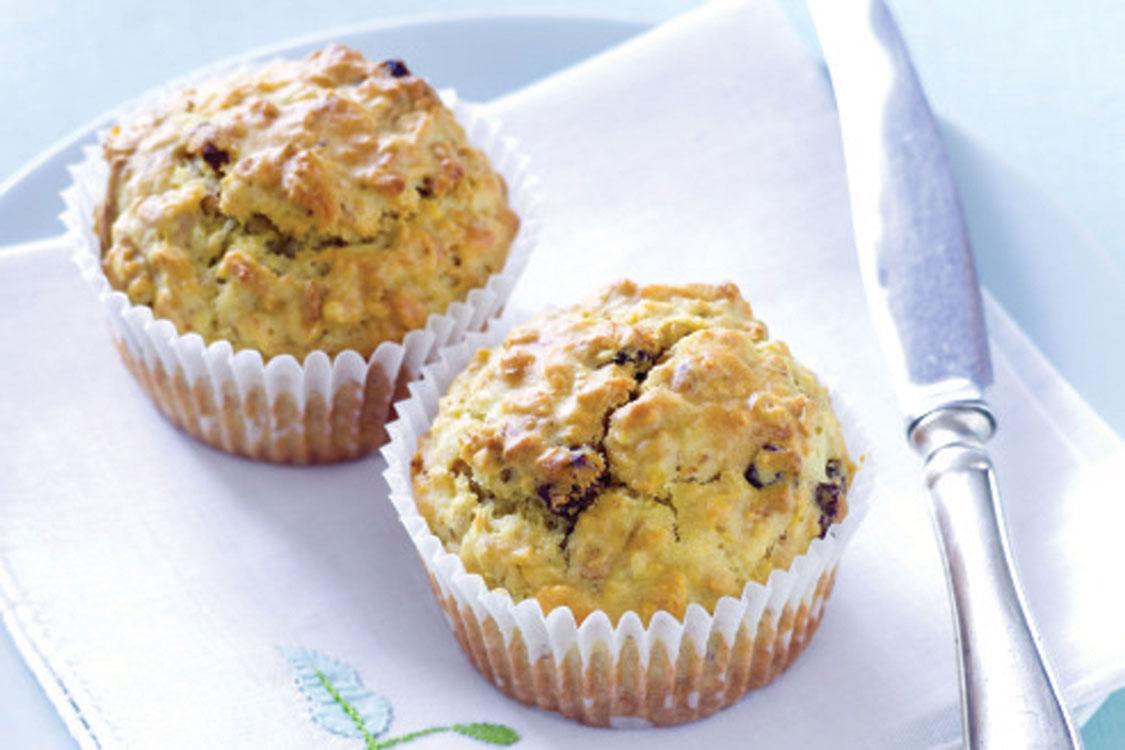 Muffins de maçã sem glúten e sem açúcar refinado