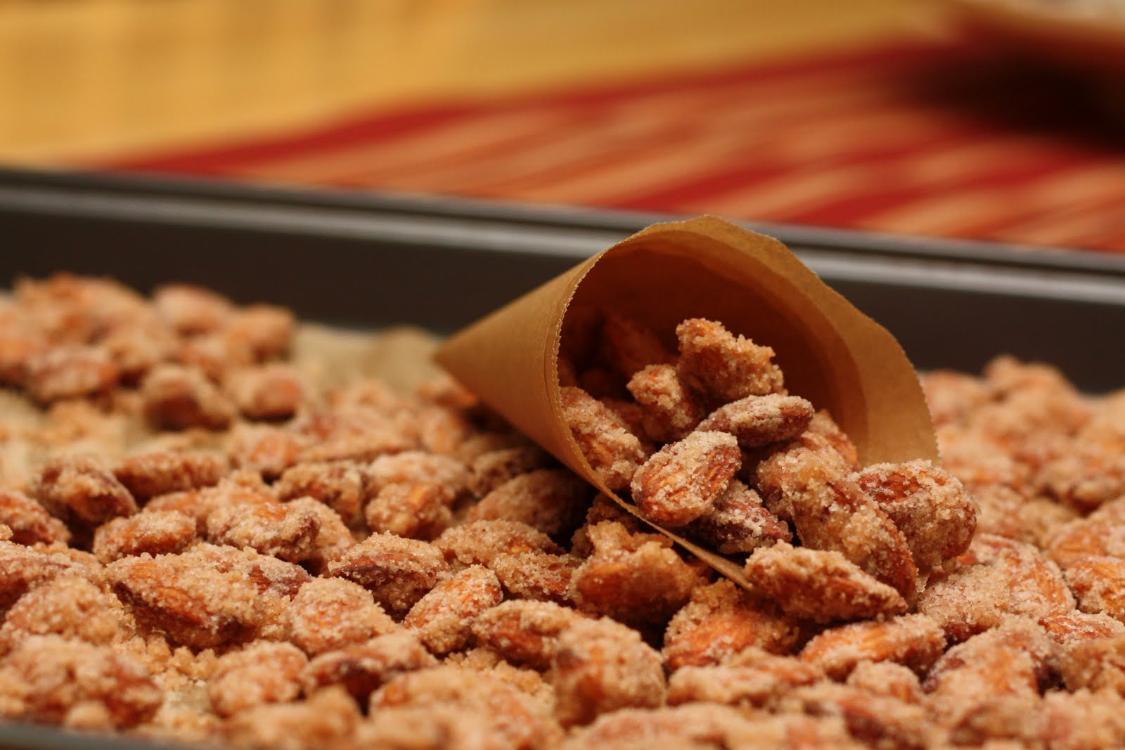 São amêndoas caramelizadas, são deliciosas, são para comer… já!
