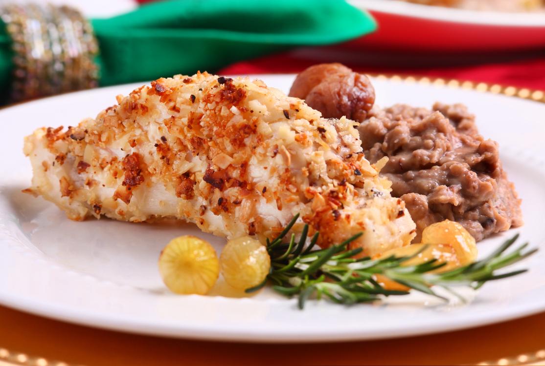 Não resiste a um bom prato de bacalhau? Então, descubra este bacalhau com amêndoas!