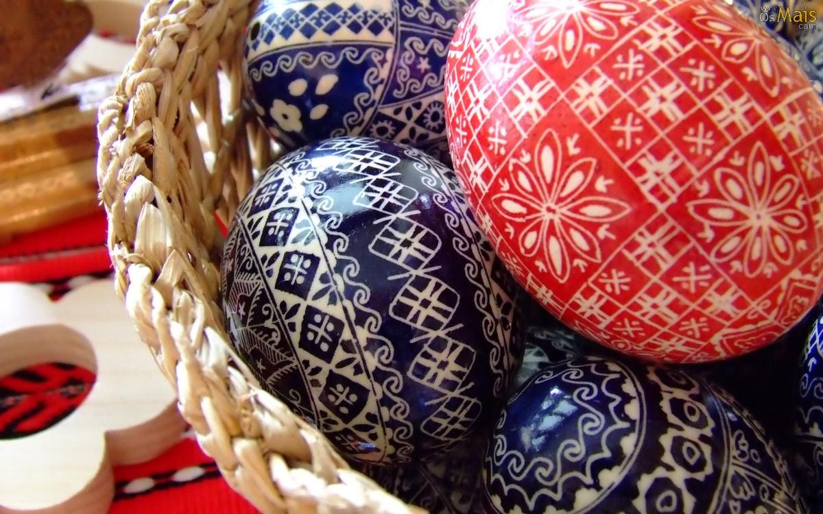 Nunca viu ovos da Páscoa tão bonitos como estes!