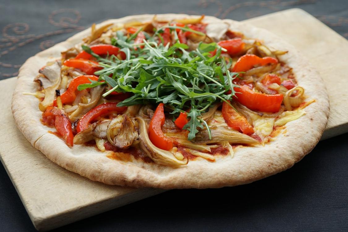 Receita muito saudável de pizza vegan