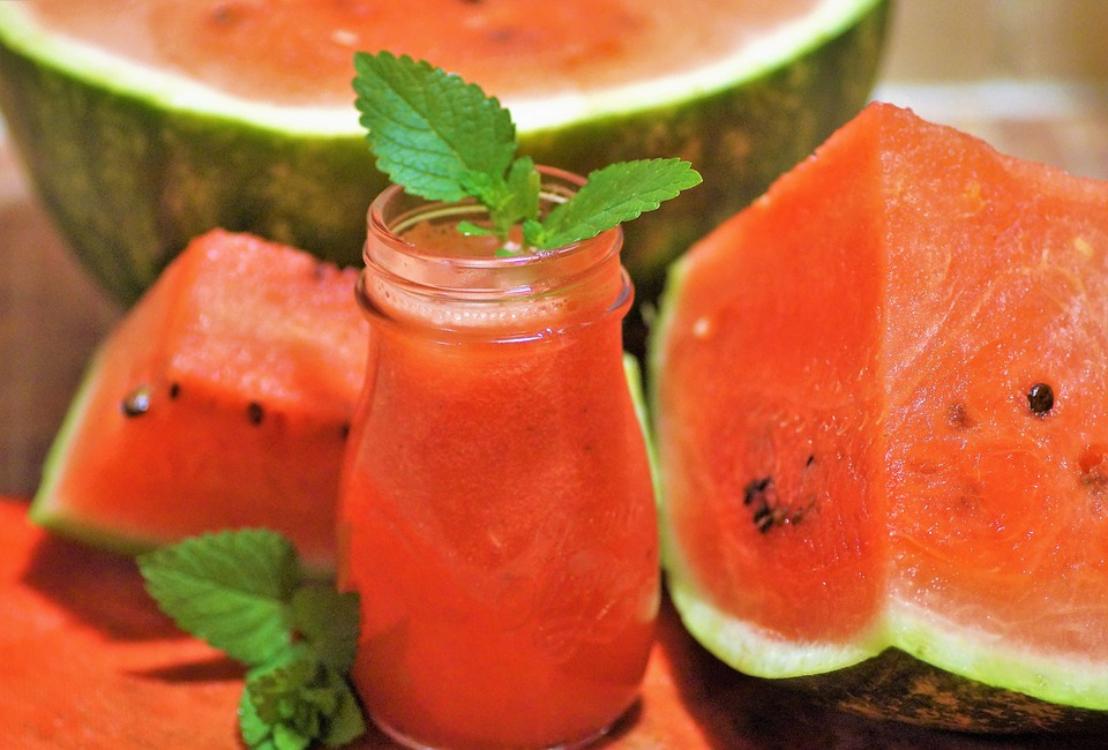 Receita (muito) rápida de sumo de melancia