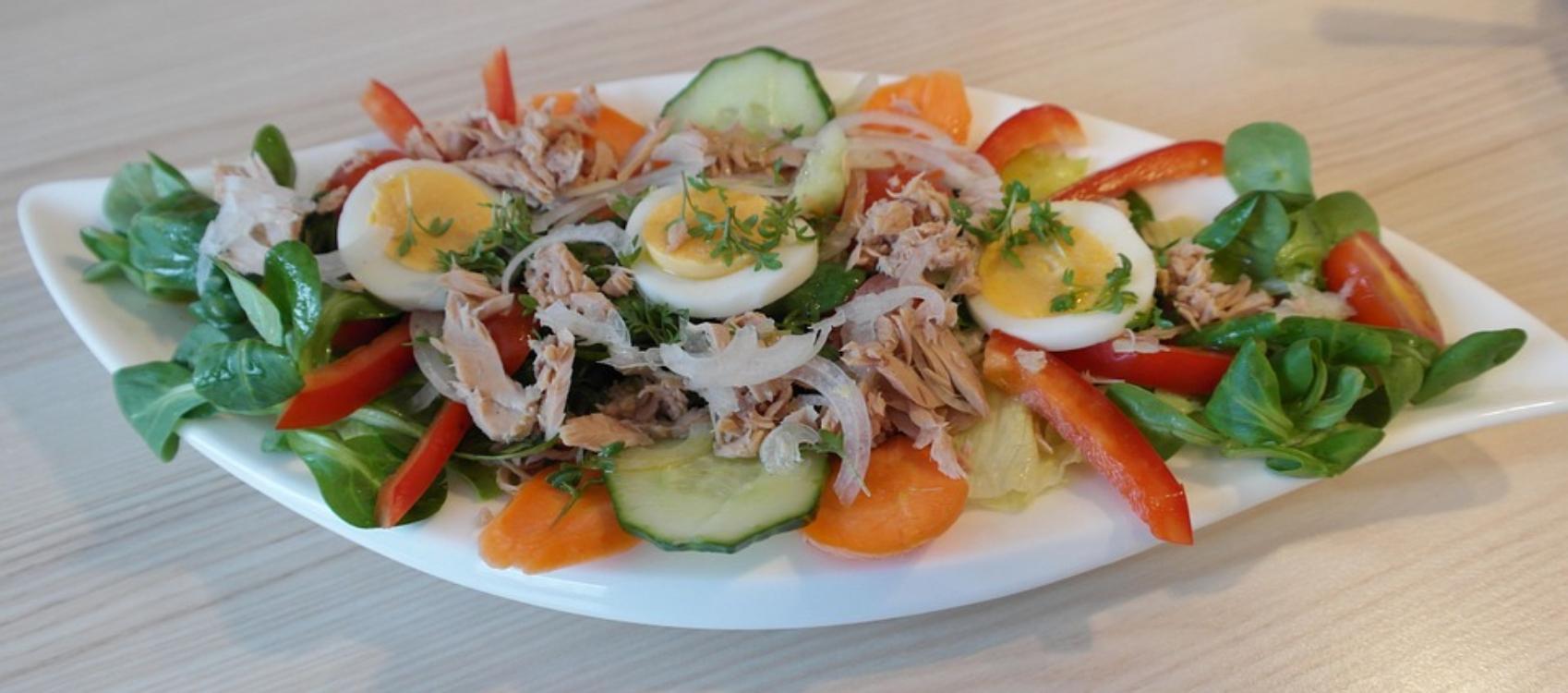 Receita (muito) saudável de salada de atum!