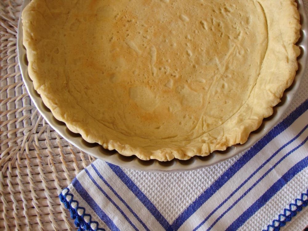 Receita caseira de base de tarte