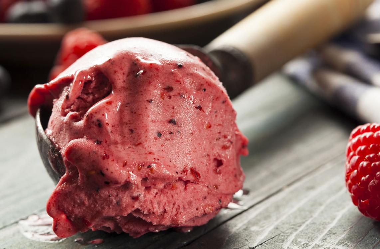 Receita caseira de gelado de frutas saudável!