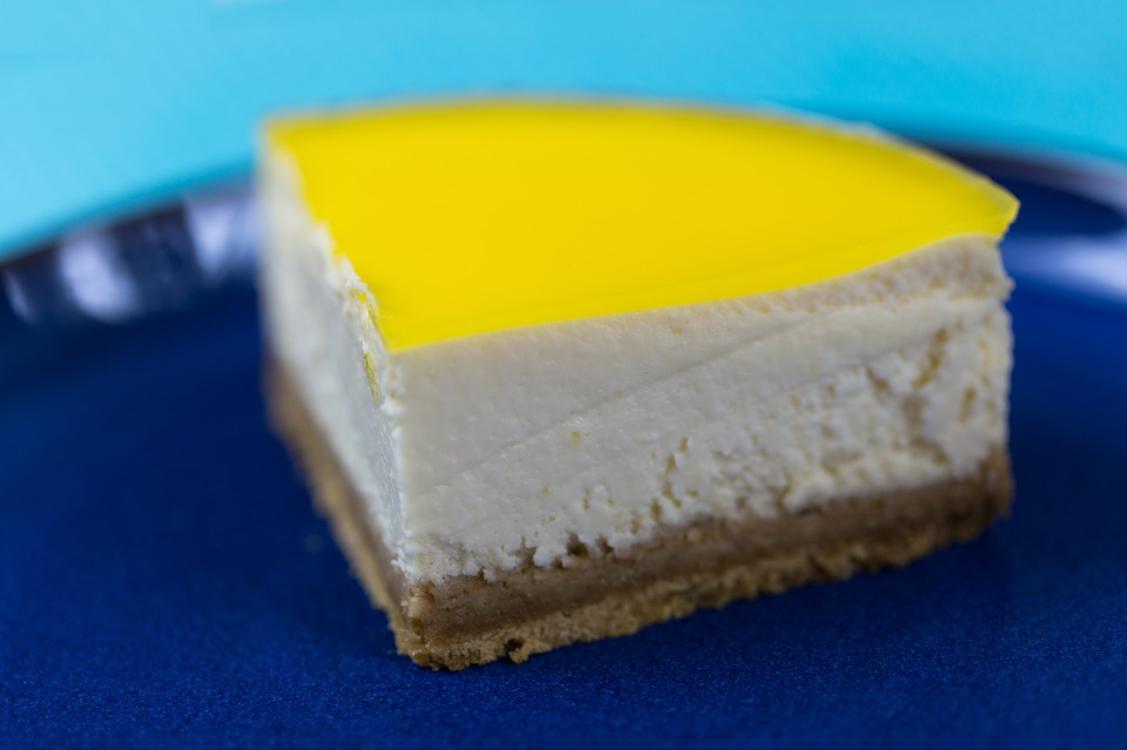 Cheesecake de limão e coco