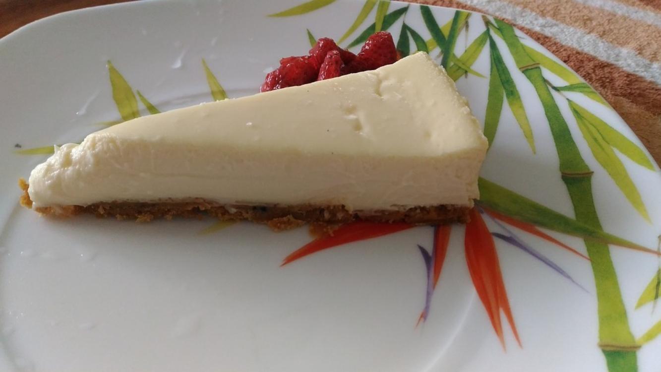 Receita de cheesecake sem açúcar