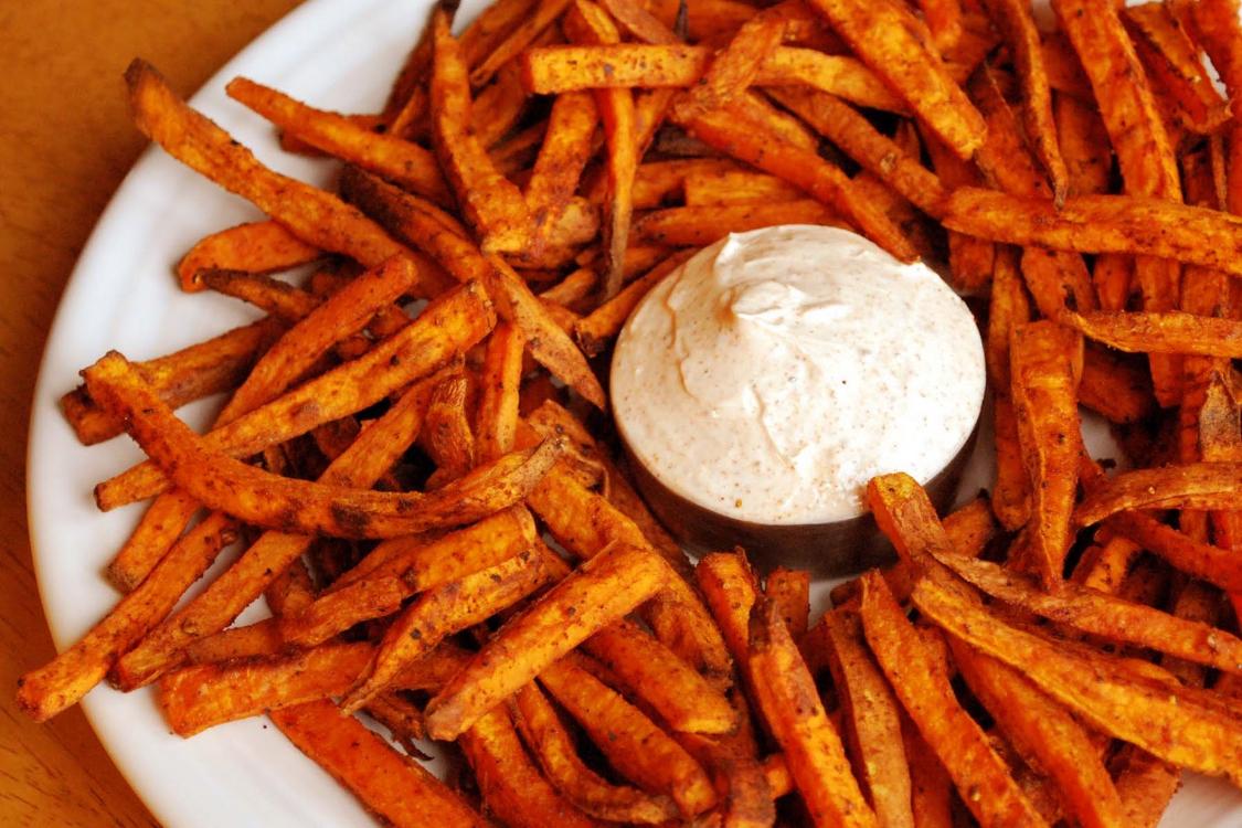 Batata-doce frita