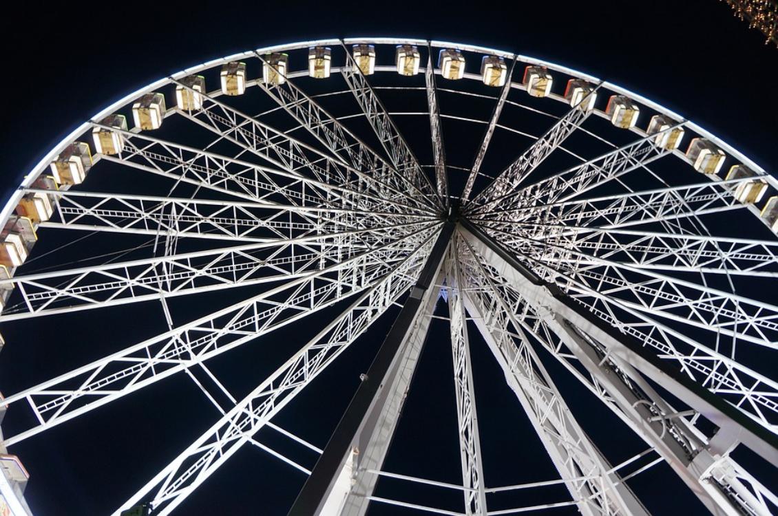 O Natal está quase a chegar… e a roda gigante regressa a Lisboa!