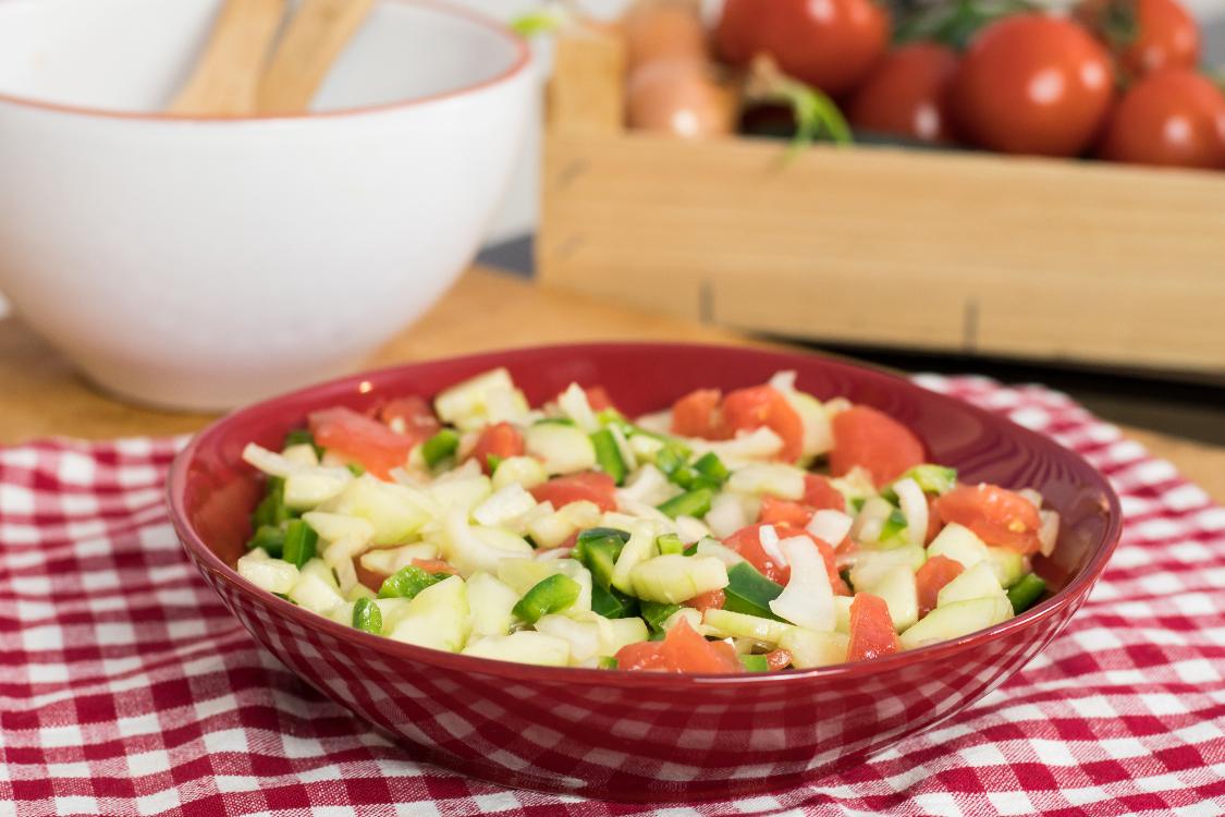 Receita (muito) saudável de salada à algarvia