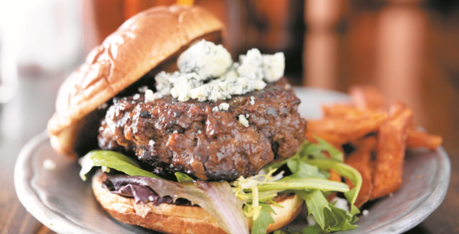Hambúrguer de vitela e farinheira