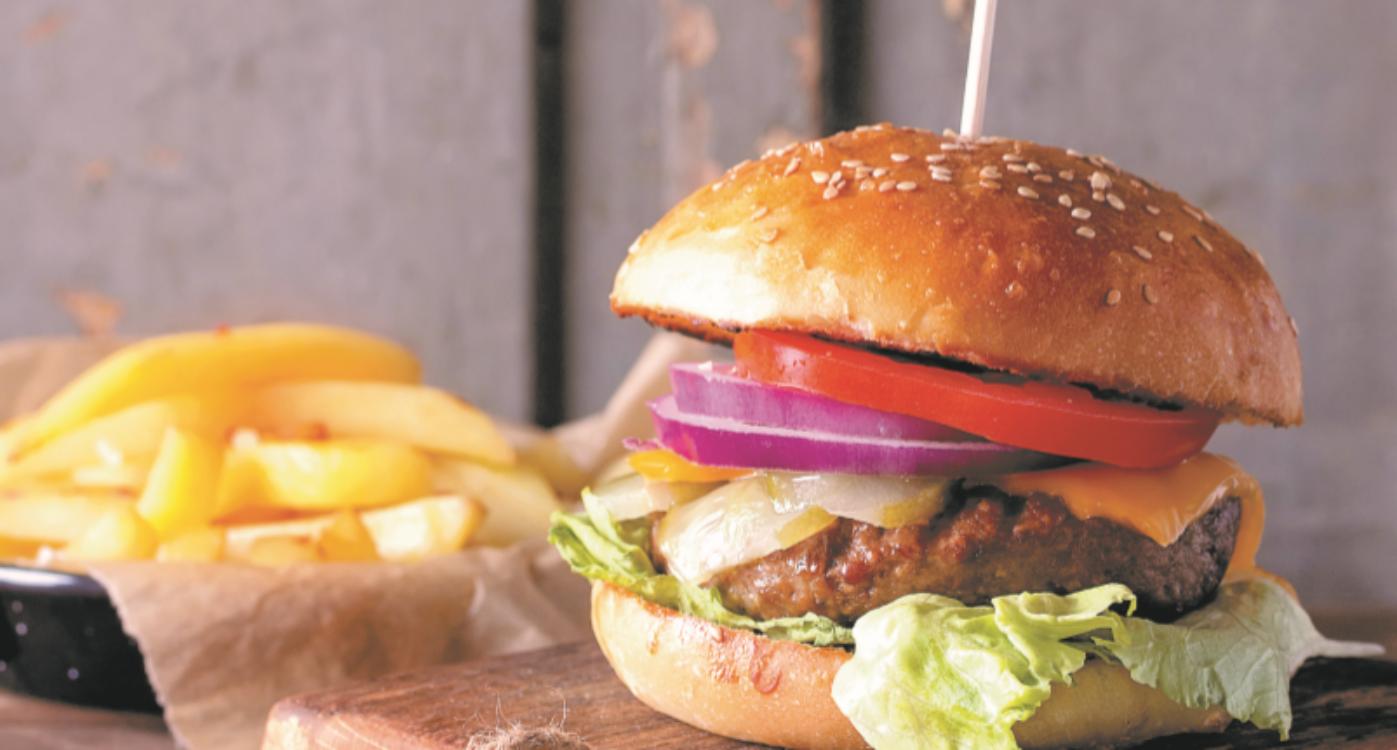Receita de hambúrguer de chouriço