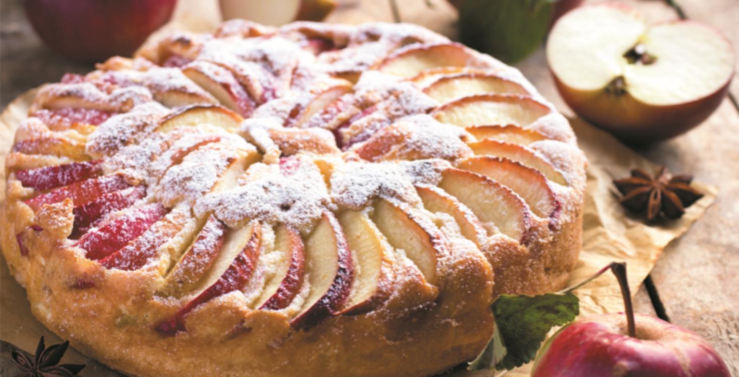 Tarte de maçã e flor de anis