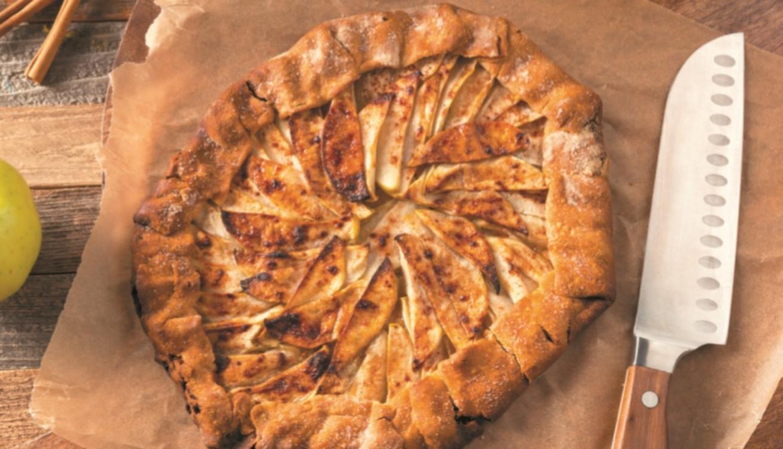 Receita de tarte rústica de maçã