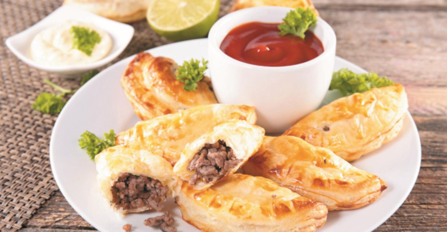 Folhados de carne: uma receita prática… e muito saborosa!