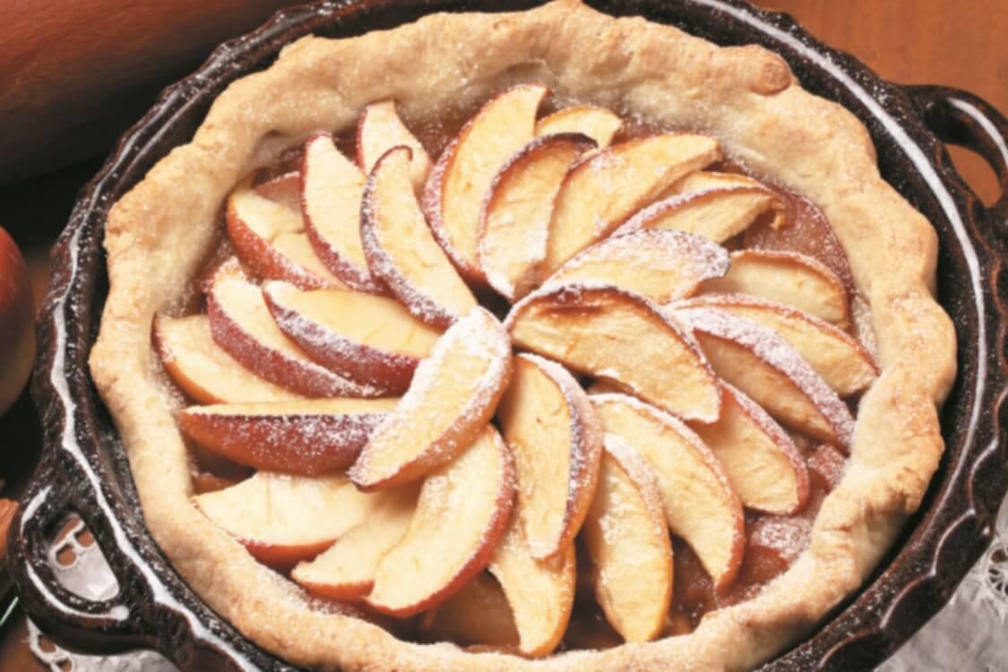 Tarte light de maçã: tenho a certeza de que vai adorar!