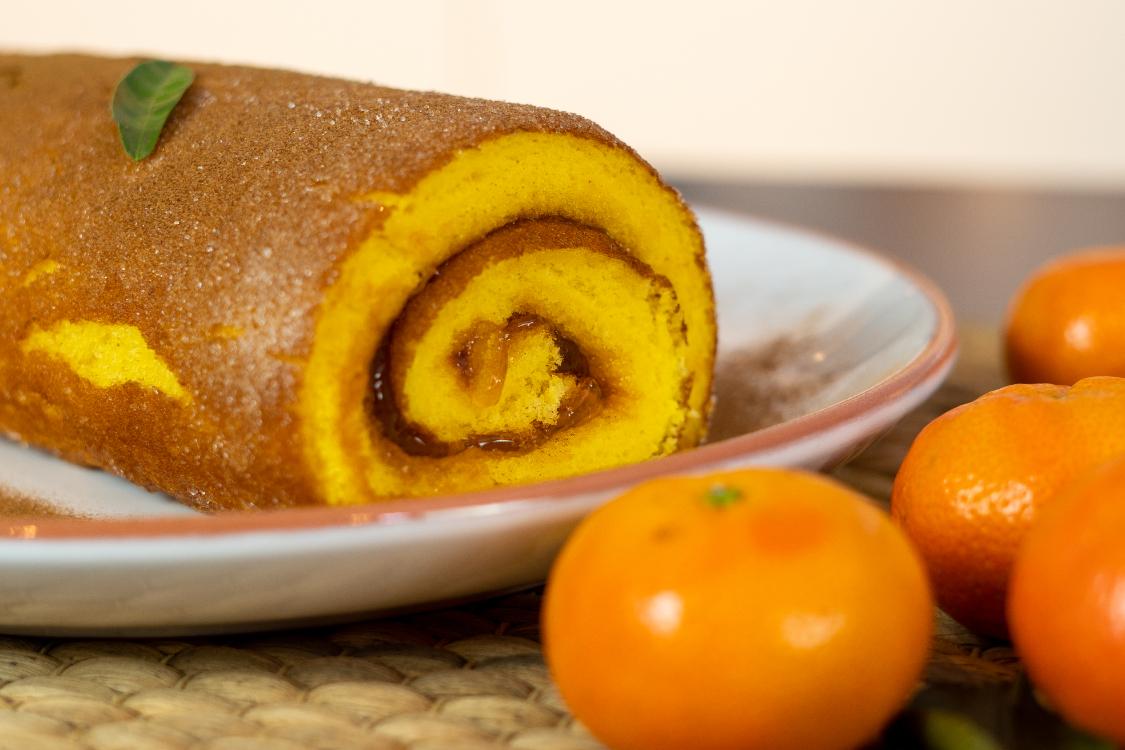 Torta de clementina e canela: cheira bem… e sabe ainda melhor!