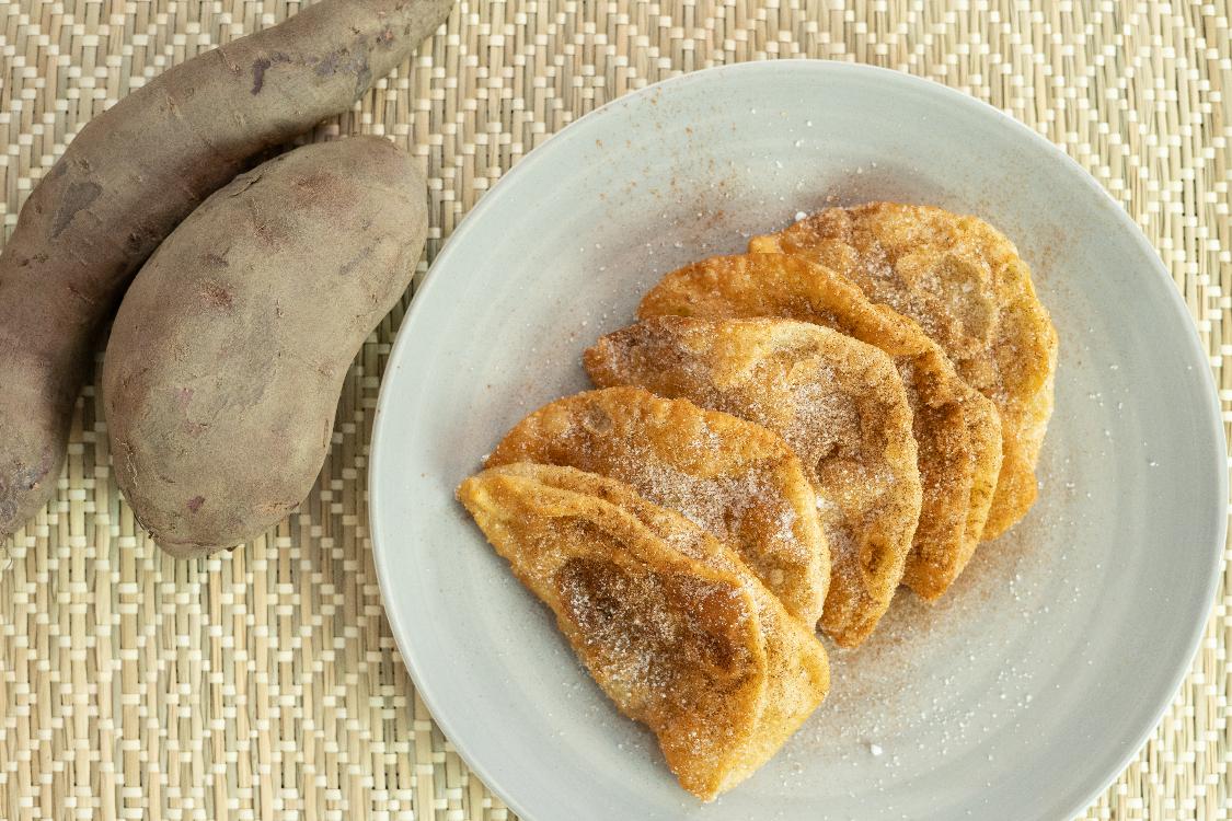 Azevias de batata-doce: ponha as mãos na massa!