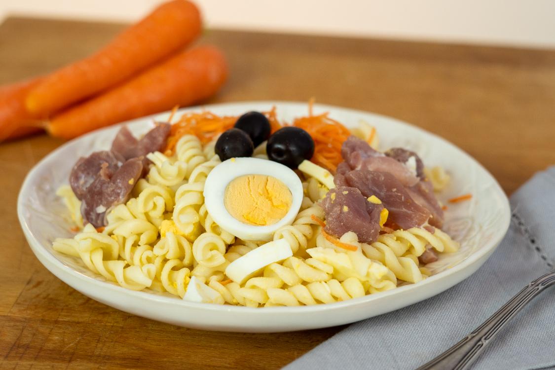 Salada de ovo e bacon: a receita perfeita, quando estamos sem tempo!