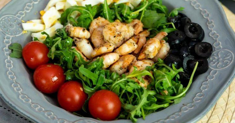 Salada de camarão: que sabor irresistível!