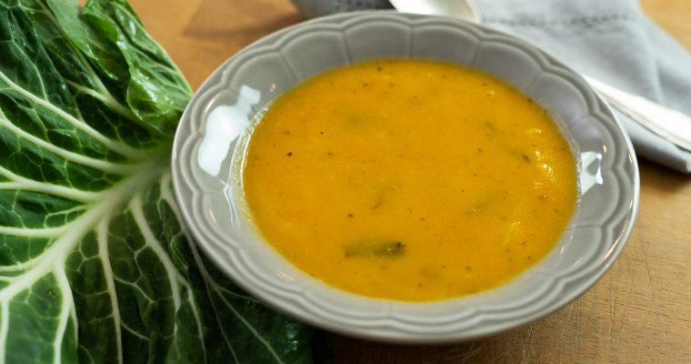 Sopa de legumes sem batata: menos calorias, todo o sabor!