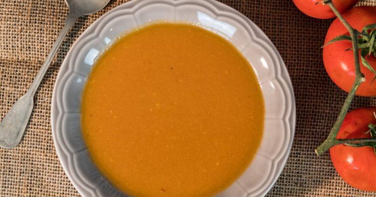 Gaspacho: um prato fresco para os dias quentes que estão a chegar!
