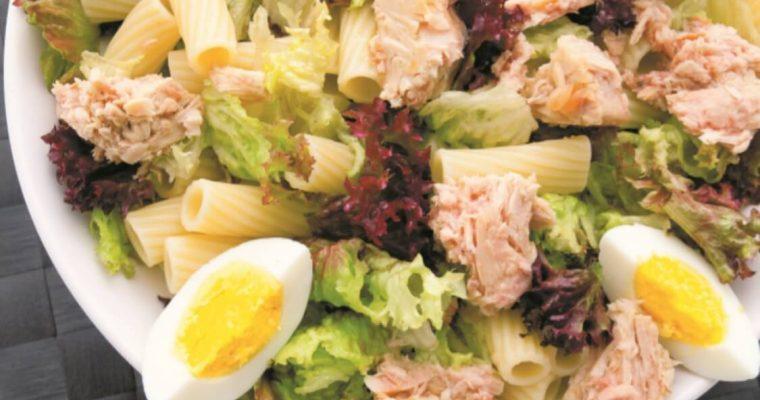"""Salada de atum: está aberta a operação """"corpinho de verão 2020""""!"""