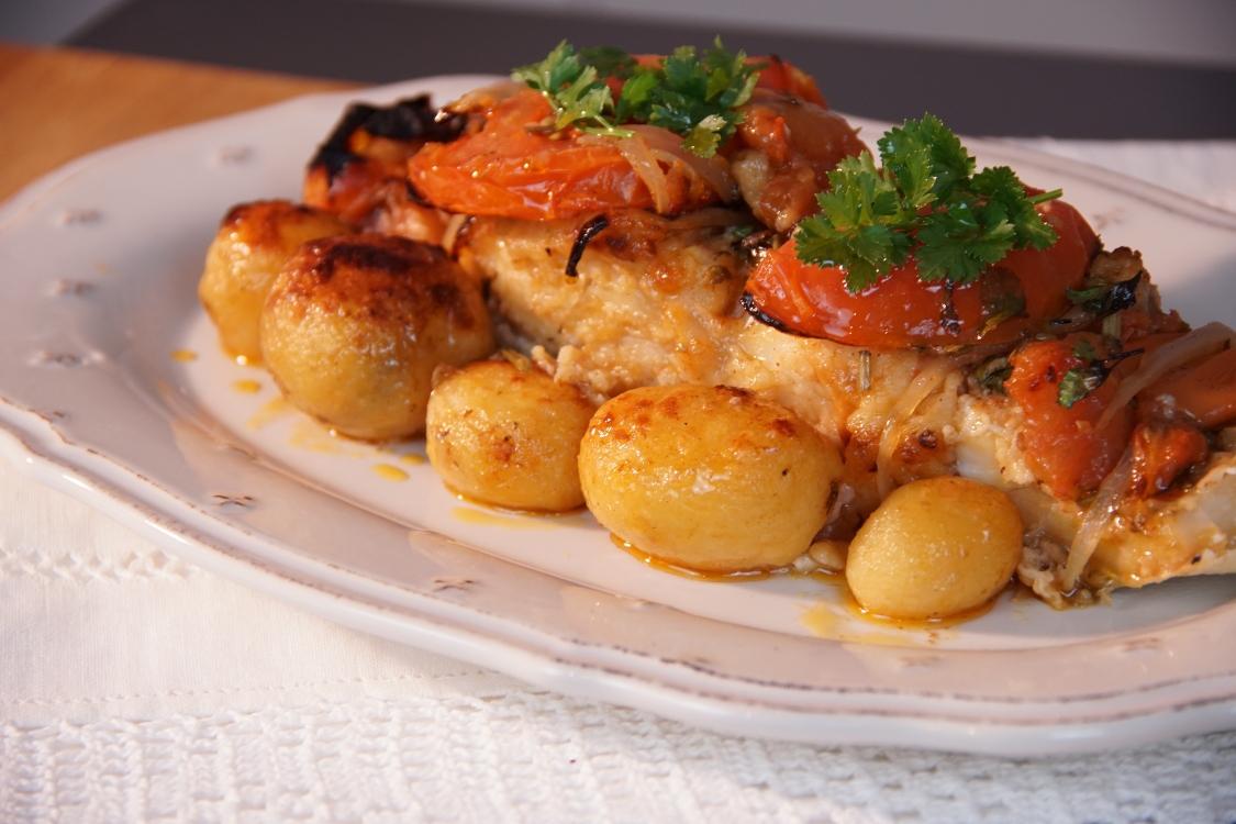 Bacalhau assado com tomate: uma receita tradicional!