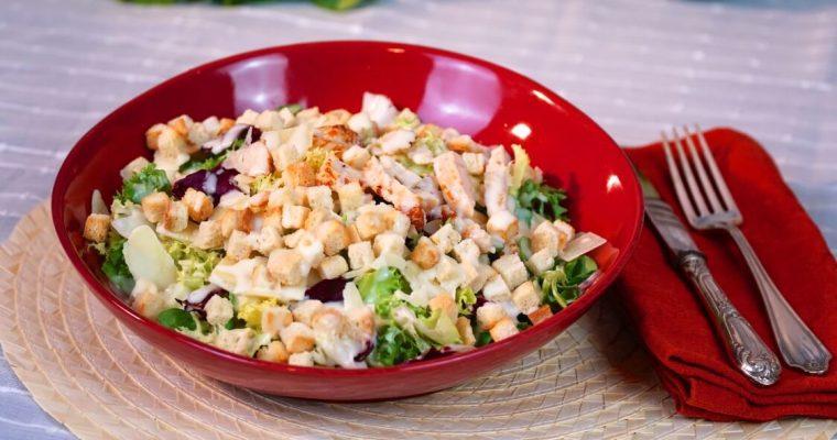 Salada César: um clássico… é sempre um clássico!