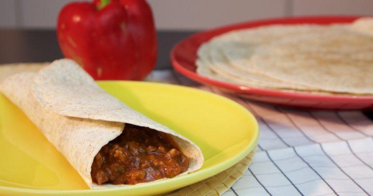 Burrito: muito sabor… numa receita bastante simples!