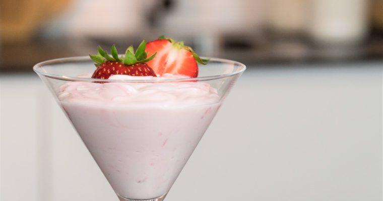 Mousse express de morango: uma receita rápida e deliciosa!