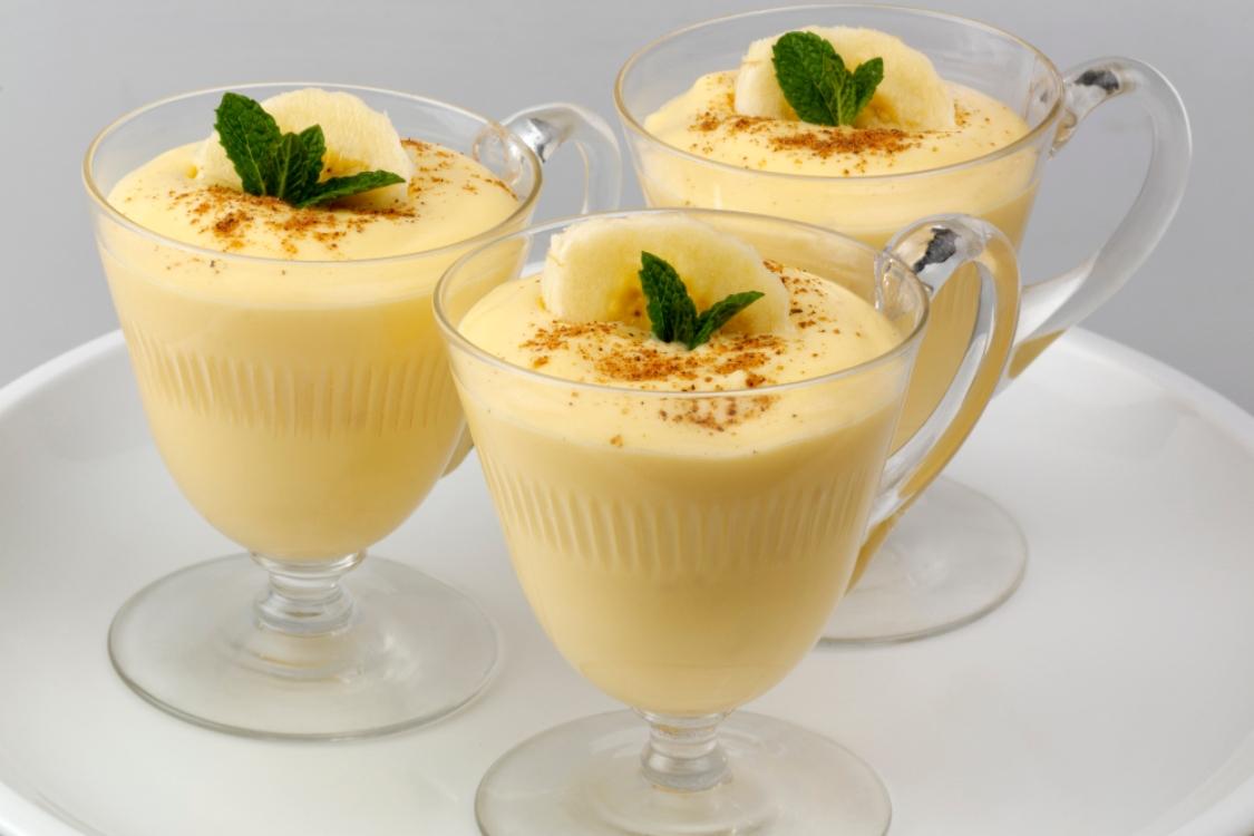 Mousse de banana: saborosa e simples de fazer!