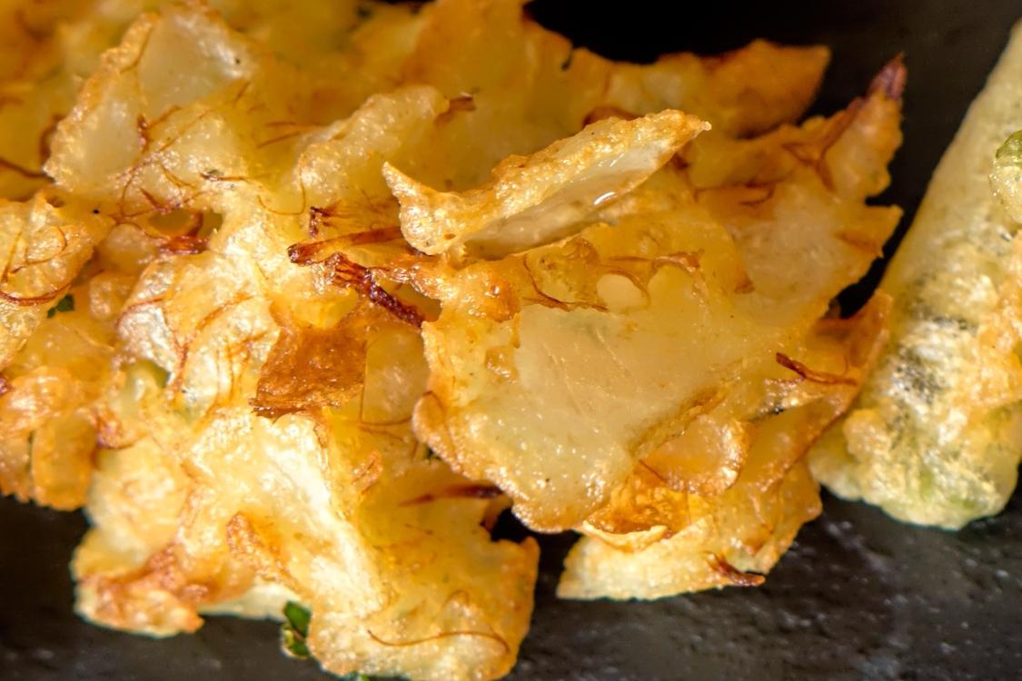 Pataniscas de cebola: uma versão diferente de um prato tradicional!