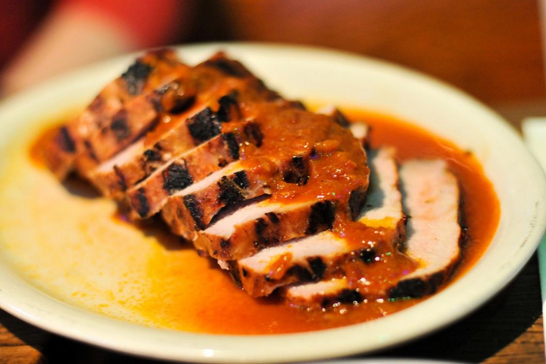 Lombinhos de porco no forno com um molho irresistível