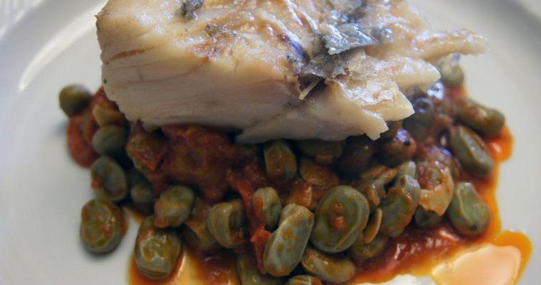 Bacalhau com favas, uma receita do Goucha