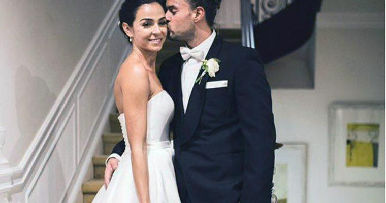 Primeiras imagens do casamento de Marco e Vanessa Martins