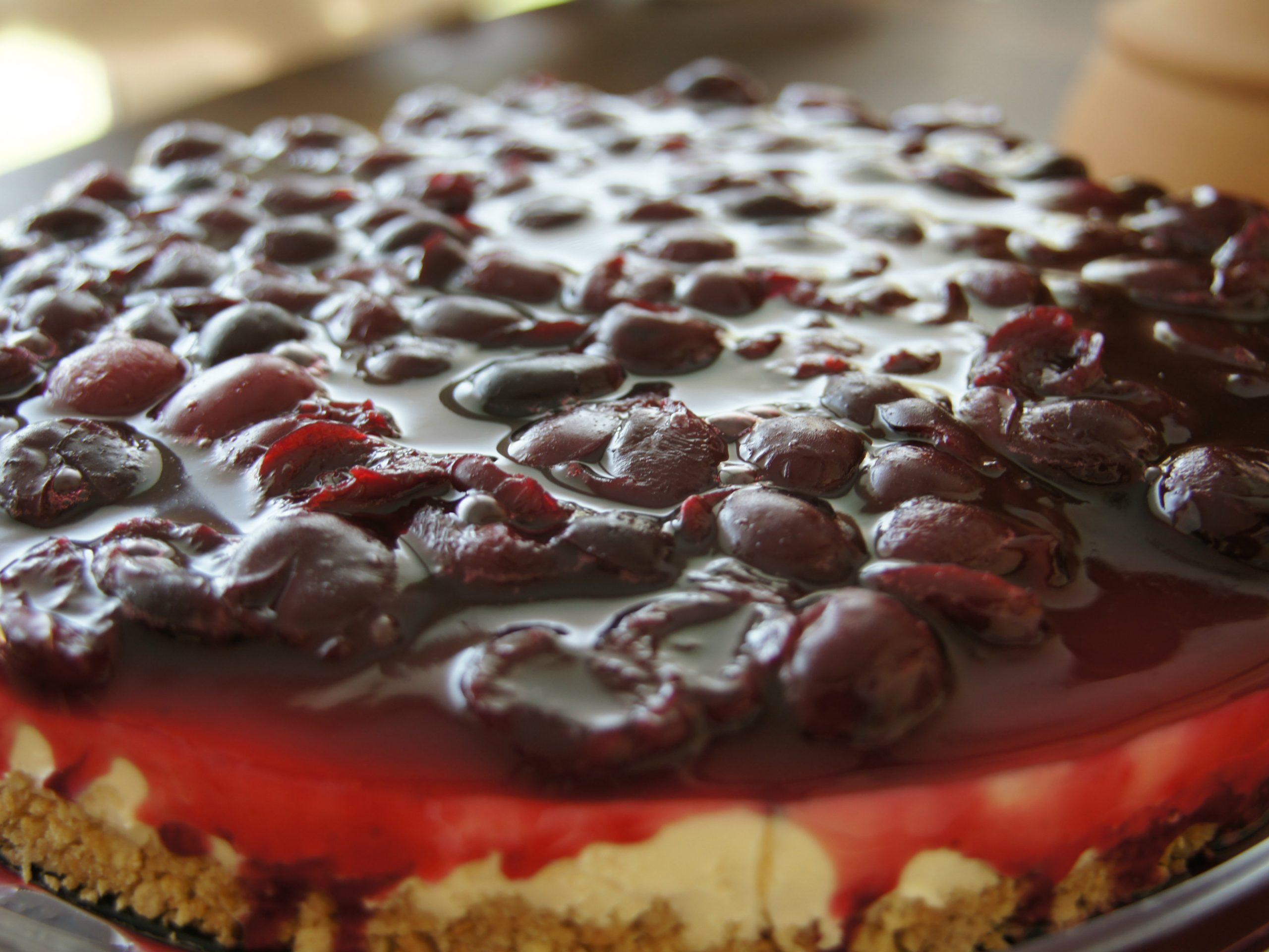 O cheesecake de cereja de Manuel Luís Goucha