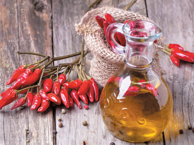 Como preparar azeite picante