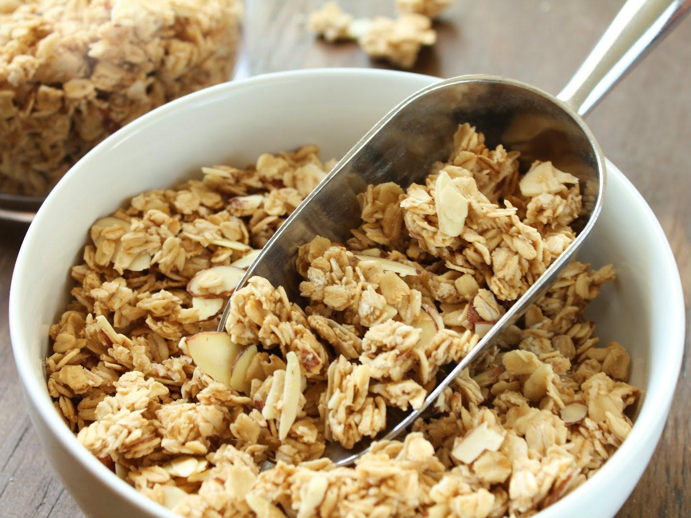 A receita de granola de Isabel Silva