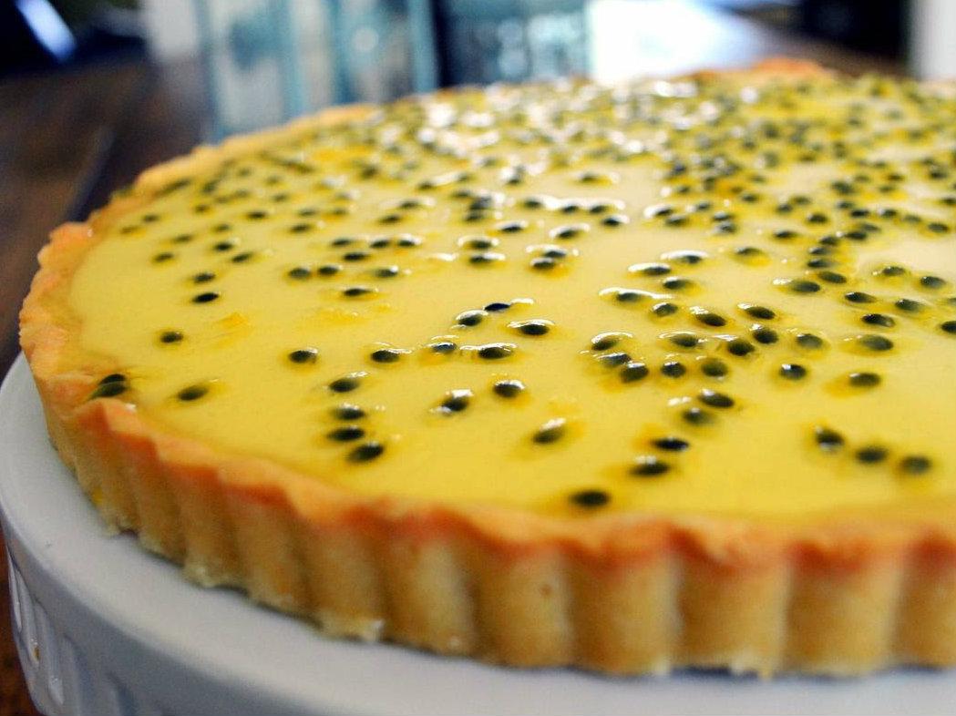 Tarte de maracujá: uma sobremesa linda… e irresistível!