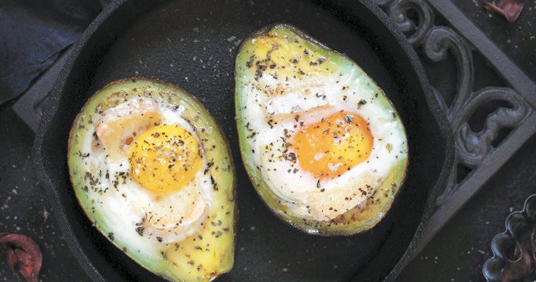 Receita de abacate recheado
