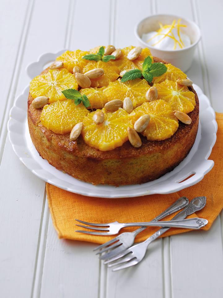 Receita de bolo de quinoa e laranja