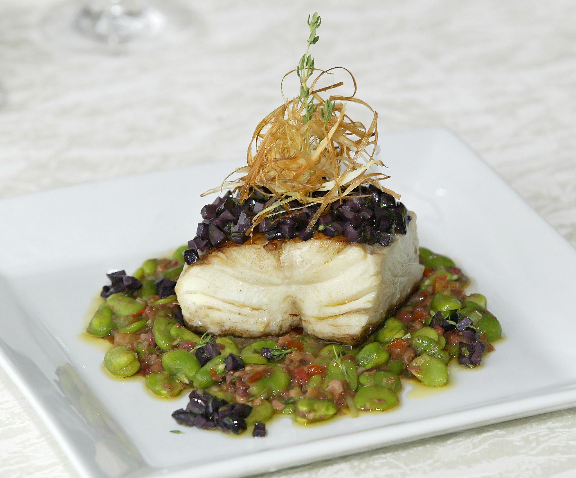 Receita de bacalhau com favas